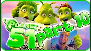 Planet 51 Walkthrough Part 10 (PS3, Xbox 360, Wii) - Movie Game [Ending]