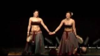 """Bauchtanz - Zigeunertanz Duo Brisa bei """"Orient im Advent"""" Hannover 2009"""