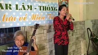ĐỈNH CAO guitar đệm hát  THANH ĐIỀN Cần Thơ / ca lẻ Cẩm Vân / HẠ BUỒN / st Thanh Sơn / hát giao lưu