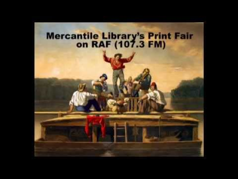"Radio interview about the Mercantile Library""s Print Fair at UMSL"