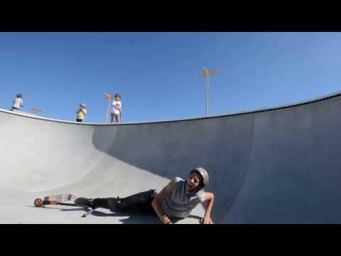 Tasta skatepark with Thomas Lee