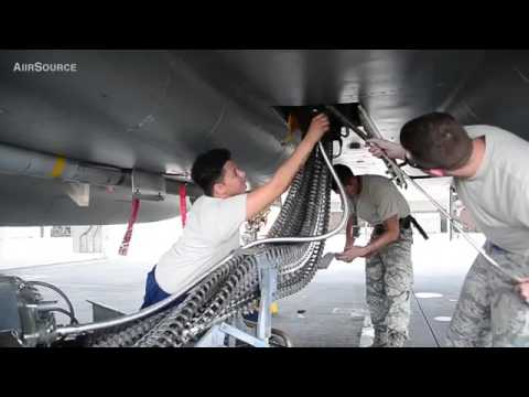 Air Force Weapons Loaders Arm F 15 Fighters