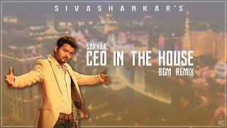 CEO IN THE HOUSE - BGM Remix | Sarkar | TrapStep 🔥(Official Audio)