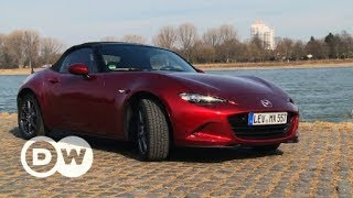 Der Winter-Cabrio-Test: Mazda MX-5 | DW Deutsch