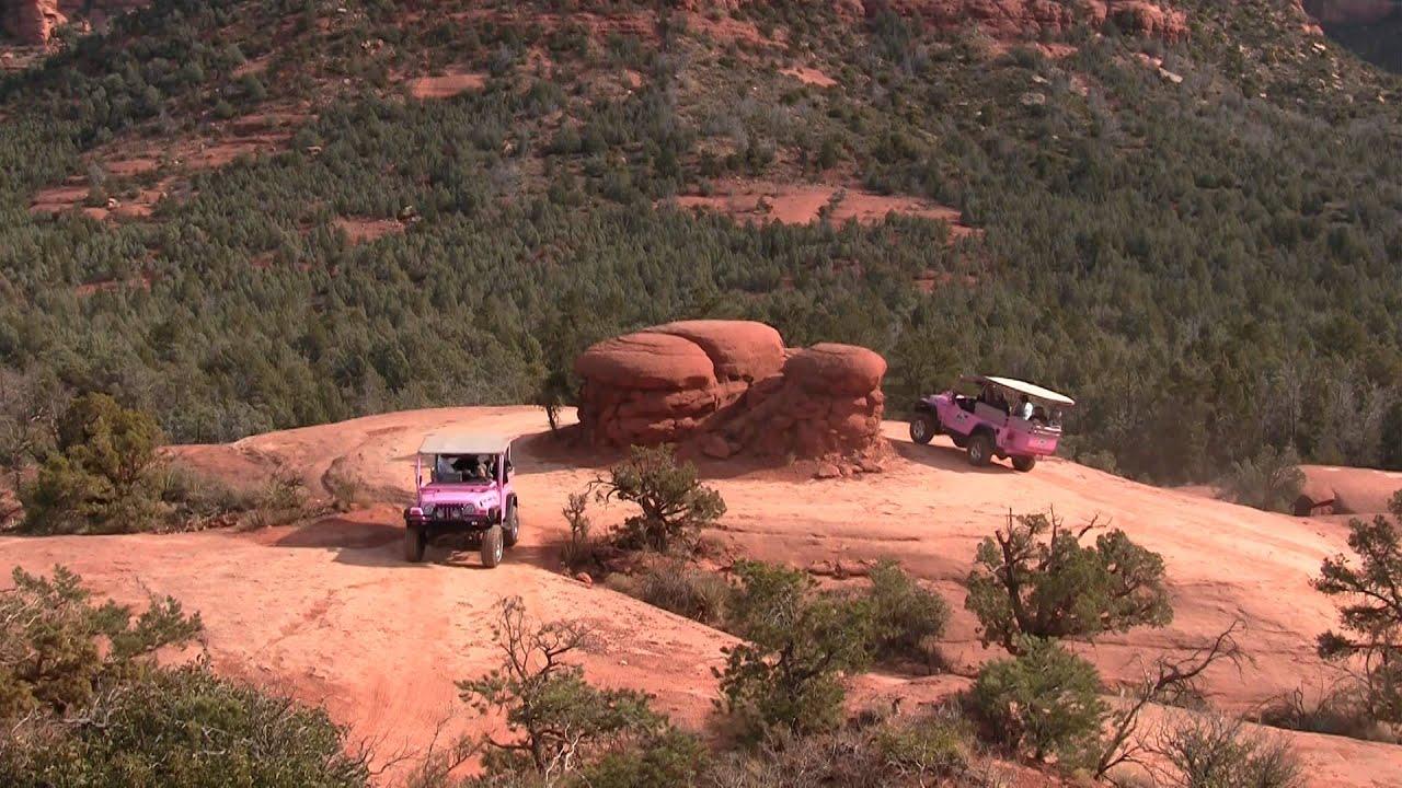 Mushroom Rock   Pink Jeep Tours   Sedona, Arizona   YouTube
