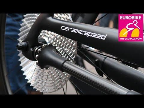 CeramicSpeed 99% Efficient Drive Shaft // Chain Free Bike // Eurobike 2018