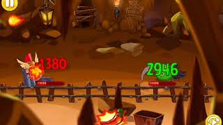 [RED PALADIN SOLO!!!] ANGRY BIRDS EPIC CHRONICLE CAVE 21-10 (FIRST ON YOUTUBE)
