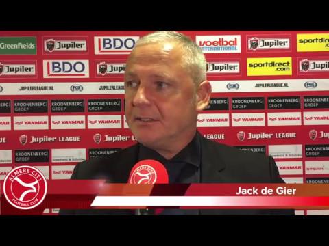 Jack de Gier: 'Vooruit kijken naar volgend seizoen'