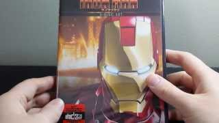 Marvel Anime: Iron Man Complete Series DVD Unboxing