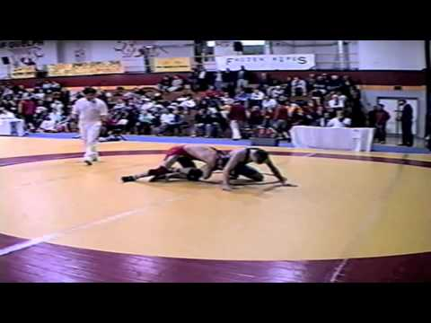 2002 Senior National Championships: 55 kg Rene Harrison vs. Nick Zuback