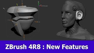 ZBrush 4R8 : New Features