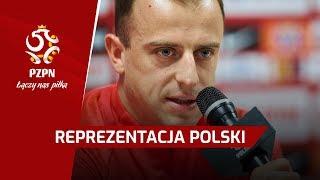 Konferencja prasowa | Brzęczek, Grosicki | Gdańsk