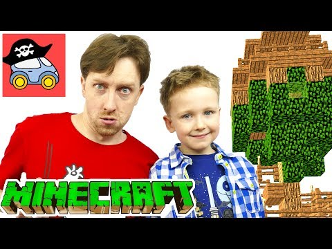 🏡 Строим в Minecraft ДОМ НА ДЕРЕВЕ Общаемся с подписчиками Как построить Дом в Майнкрафт Жестянка