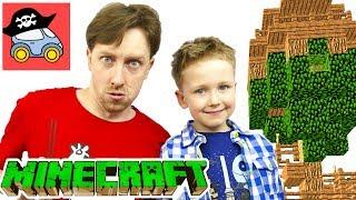 - Строим в Minecraft ДОМ НА ДЕРЕВЕ Общаемся с подписчиками Как построить Дом в Майнкрафт Жестянка