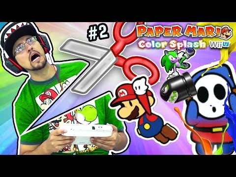 GAME GOT GOODER! Paper Mario Color Splash Part 2 Duddy's Rud