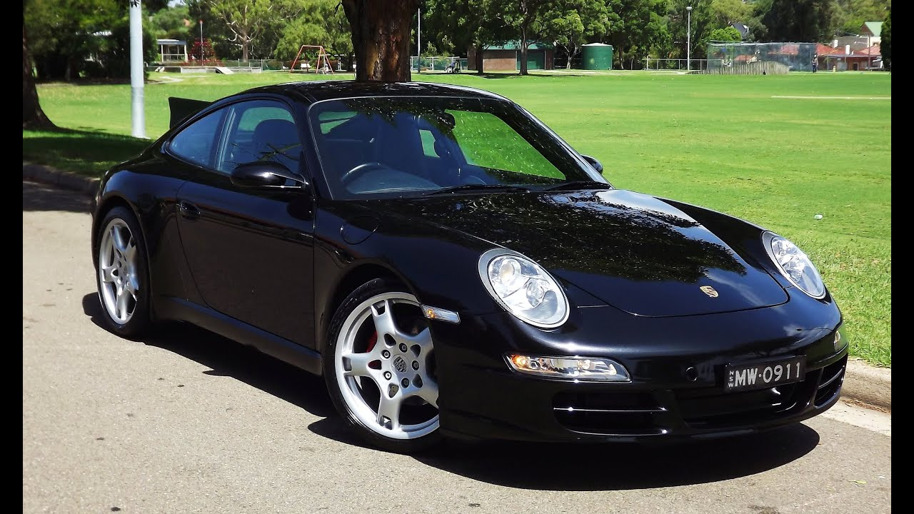 2006 Porsche 911 Carrera 997 C2 Manual My07 89 990 00