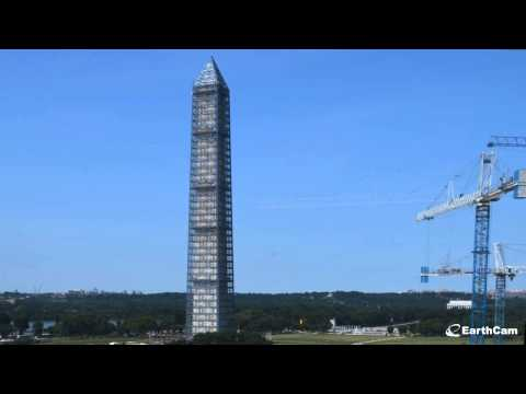 Official Washington Monument Restoration Time-Lapse