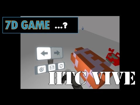 7D GAME (?) for the HTC Vive