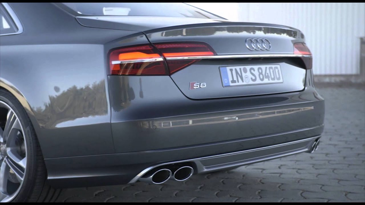 2014 AUDI S8 - Review   AutoMotoTV - YouTube