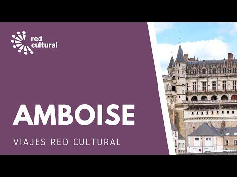 Amboise -Chateau Royal en el río Loire -Red Cultural -Magdalena Merbilhaa