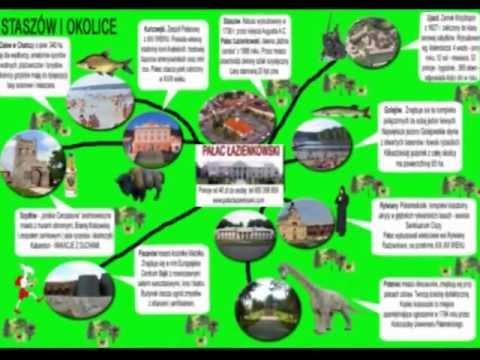 Staszow Turystyczna Mapa Okolic Gotye Youtube