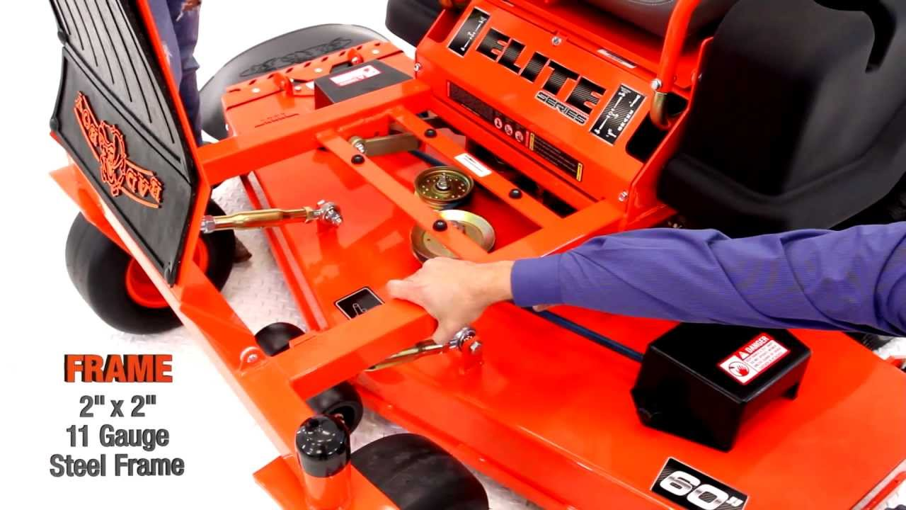 Bad Boy Mowers introduces the all new ZT Elite!  YouTube