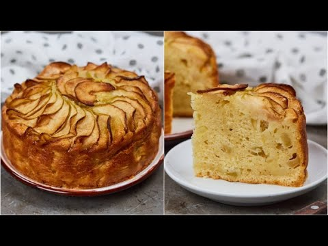 Fluffy apple pie the secret to make it super moist and delicious