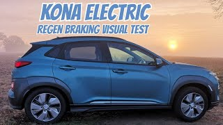 Kona Electric regen balancing,  what it