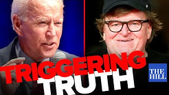 Michael Moore tells the truth about Joe Biden and triggers the MSNBC audience