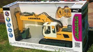 Video JAMARA TOYS Liebherr RC excavator unboxing! download MP3, 3GP, MP4, WEBM, AVI, FLV September 2018