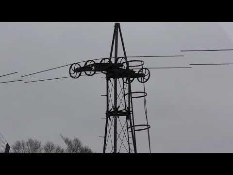 Claughton Brickworks aerial ropeway March 2018