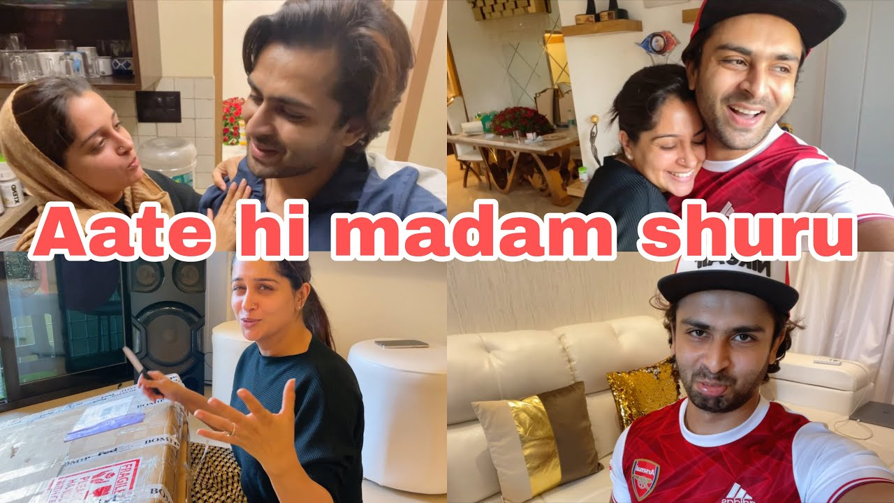 And she is back in her kitchen🙈| Unboxing the long awaited parcel | Ibrahim family | Shoaib Ibrahim