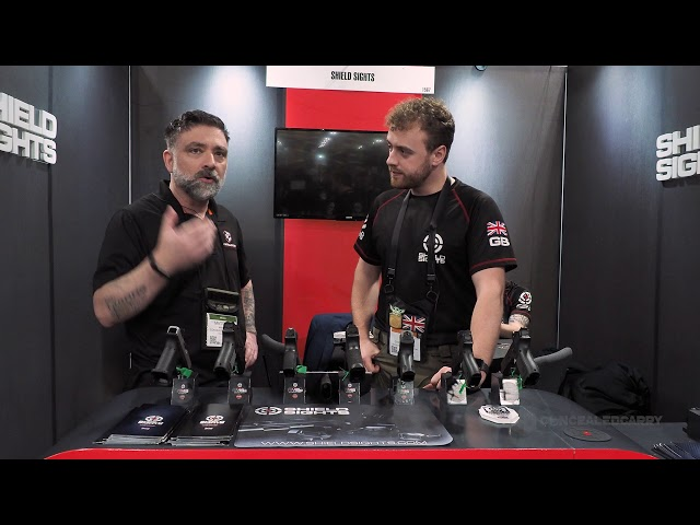 Shield Sights New RMSw Reflex Minisight – SHOT Show 2020