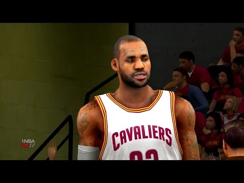 NBA 2K17 2017 NBA Playoffs Game 1 Round 1 Indiana Pacers vs Cleveland Cavaliers