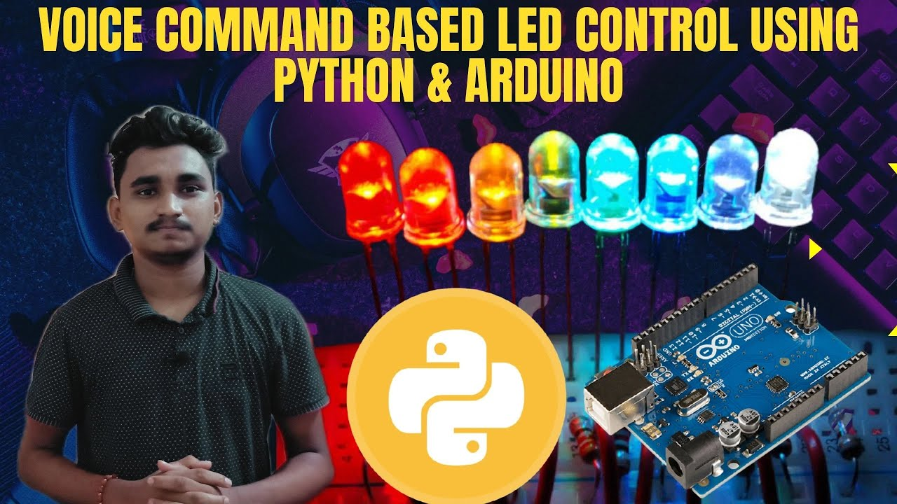 How to Controll LED Using Your Voice Command in Python and Arduino | KNOWLEGDE DOCTOR