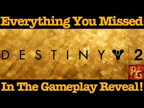 Destiny 2: Livestream Reveal Recap! What You Missed!