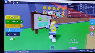 Roblox game , Magnet Simulator Maneth player