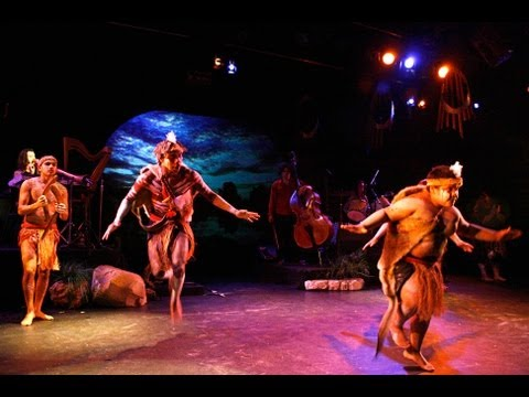 ARC dreaming Aboriginal music and dance theatre at ron bay Theatre