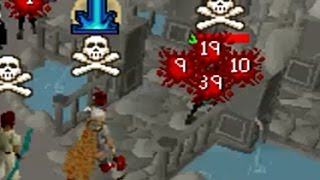 Pking On My 60 Attack Med Level! SO OVERPOWERED!