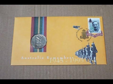 1995 Australia Coin Cover!