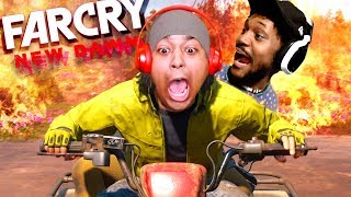 ME AND CORY OUT HERE DOING WORK!! [FAR CRY: NEW DAWN] [CO-OP]
