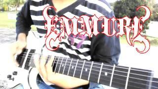 Video Emmure - Solar Flare Homicide cover (guitar) download MP3, 3GP, MP4, WEBM, AVI, FLV Maret 2017