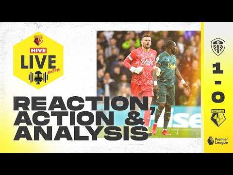 Reaction, Highlights, and Ben Foster Analysis |  Hive Live Extra