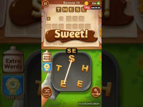 Word Cookies Banana Levels 1-20, Novice Chef Solution