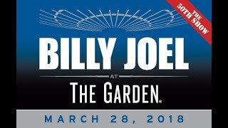 Billy Joel: The Garden III - The Record Breaking 50th Show (March 28th, 2018)