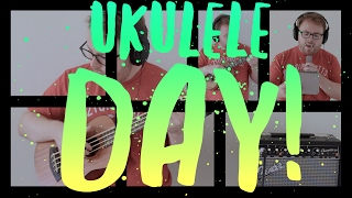WORLD UKULELE DAY! BOY WITH THE ARAB STRAP (BELLE & SEBASTIAN COVER)