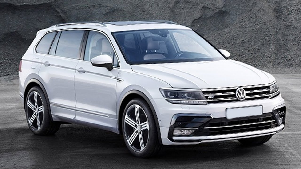 volkswagen tiguan xl skoda kodiaq suv caught testing weekly automotive news youtube. Black Bedroom Furniture Sets. Home Design Ideas