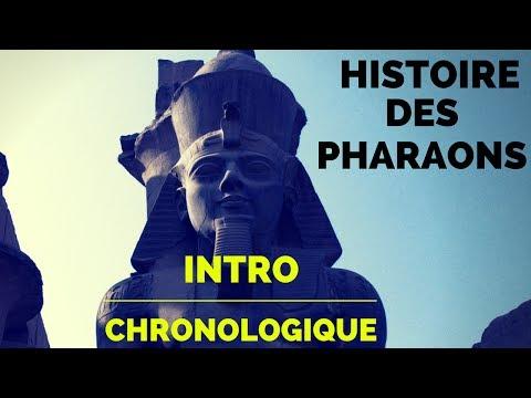 Histoire des Pharaons - Intro Chronologique