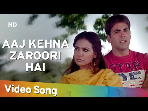 Aaj Kehna Zaroori Hai | Andaaz Songs |...