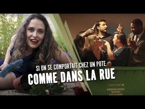 SI ON SE COMPORTAIT CHEZ UN POTE COMME DANS LA RUE - Swann Périssé ft la Ville de Paris